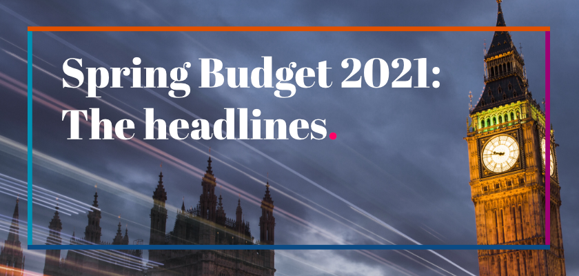 Spring Budget 2021 headlines